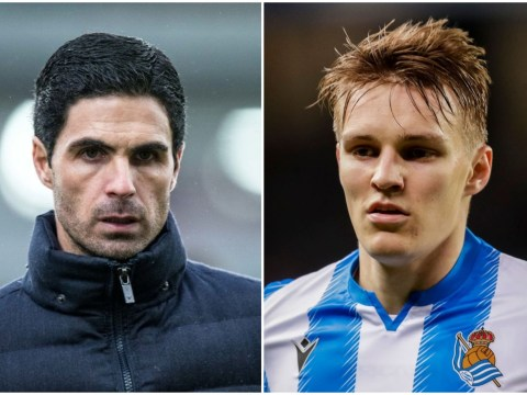 Mikel Arteta issues promise to Martin Odegaard over Arsenal transfer