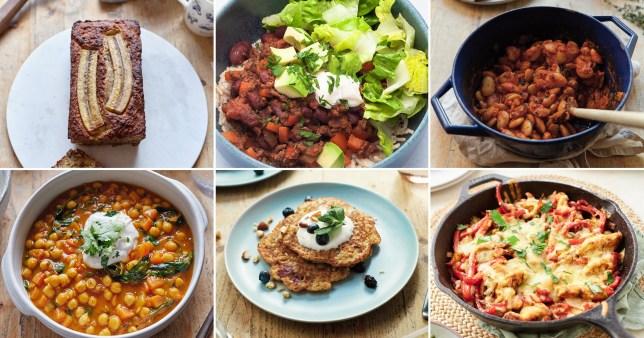 simple nature week's meal plan