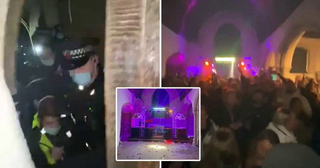 illegal NYE rarve in Essex