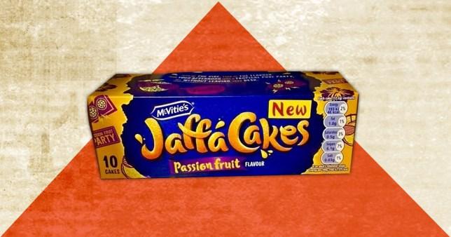 Passion fruit Jaffa Cakes