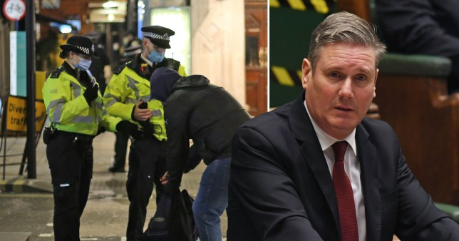 Sir Keir Starmer has called on Boris Johnson to implement a national lockdown within the next 24 hours.