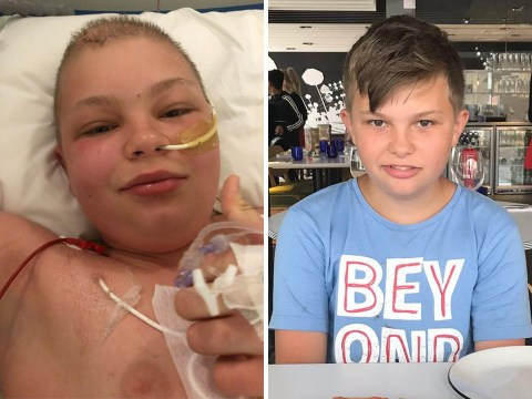 Boy, 13, diagnosed with brain tumour after complaining he couldn't hear in class