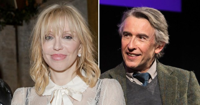 Courtney Love and Steve Coogan