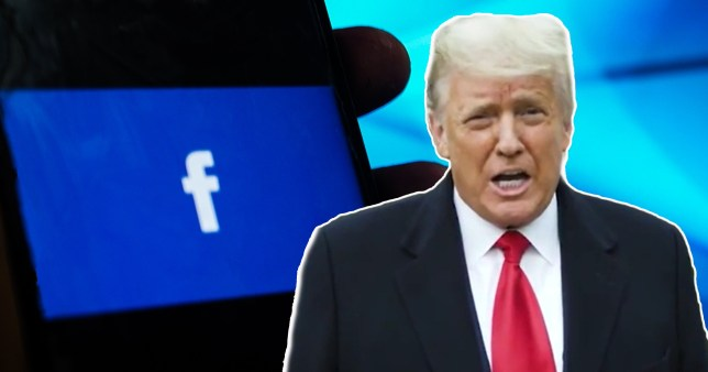 The president sought to 'undermine the peaceful transition of power', Mark Zuckerberg said