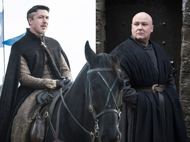 Littlefinger and Lord Varys