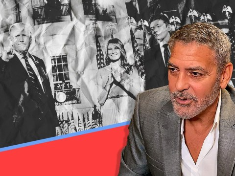 George Clooney says Donald Trump and family have been dumped into 'dustbin of history' after Capitol mayhem