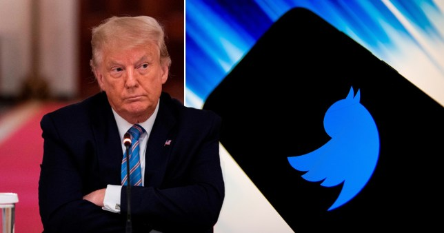 Donald trump suspended from Twitter