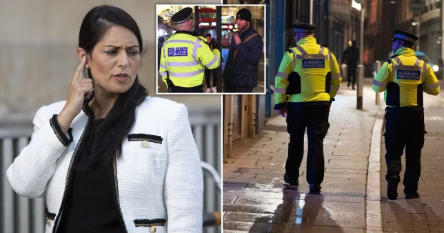 Priti Patel defends police ramping up fines in newest lockdown