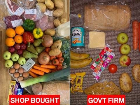 Free school meals firm with Tory links shamed over £30 shopping basket