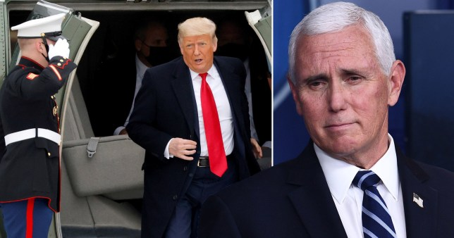 US Vice-President Mike Pence has refused to use the 25th Amendment to remove President Donald Trump from office after the violent Capitol riots