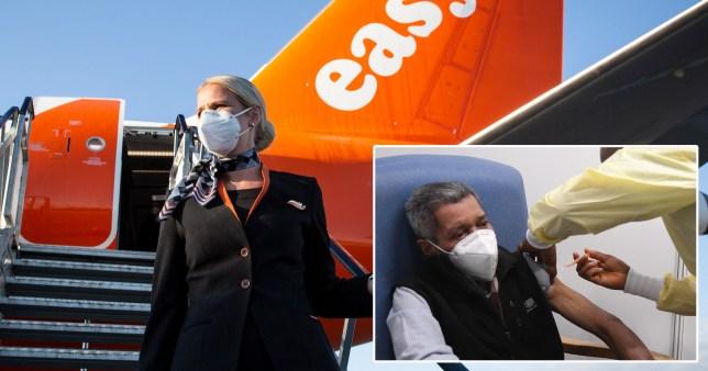 EasyJet cabin crew