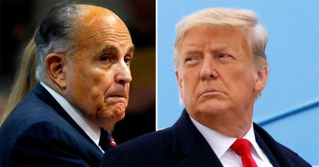 Donald Trump and Rudi Giuliani