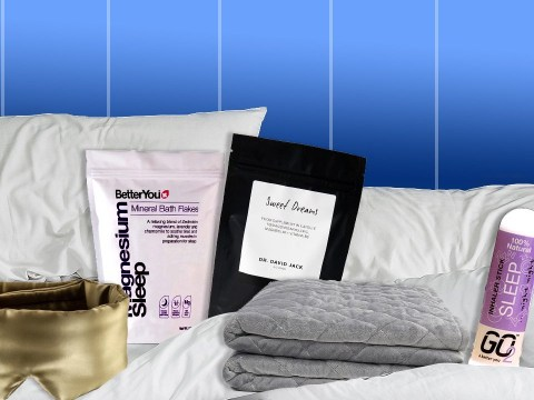 The best sleep aids from weighted blankets to bath salts