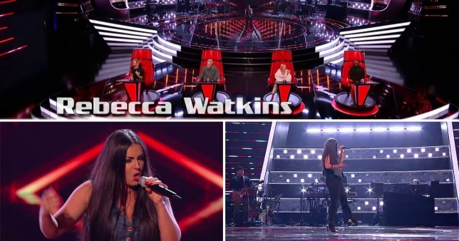 Rebecca Watkins on The Voice UK