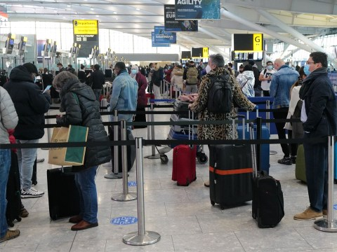 Heathrow busy with people fleeing UK before travel rules change