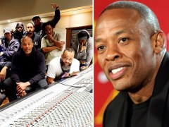 Dr Dre already back in studio days after being discharged from hospital