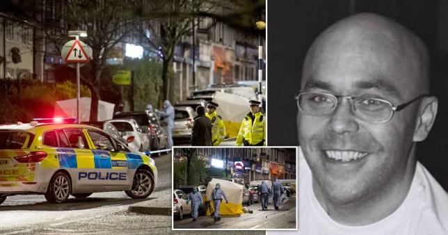 Leon Street, 48, was murdered on Neasden Lane North on January 11