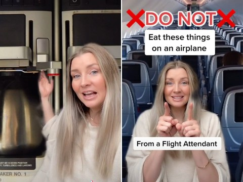 Flight attendant reveals why you should never order tap water on a plane