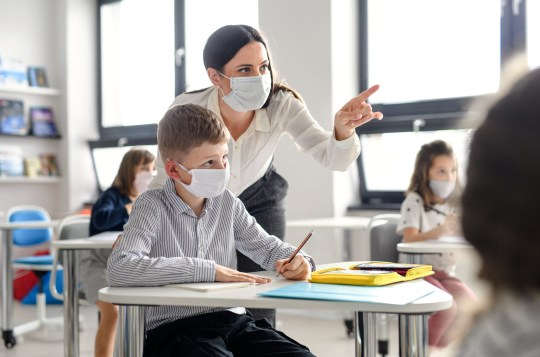 Matt Hancock said teachers had a 'a good shout' to be high on the list for vaccines