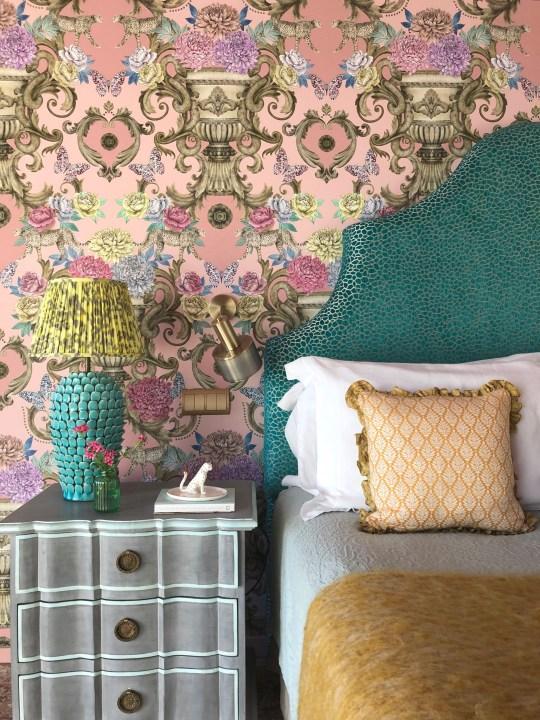 Matthew Williamson bedroom.
