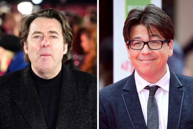 Jonathan Ross and Michael McIntyre