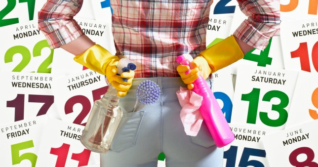 Try this 12-month cleaning calendar to organise your home starting in January