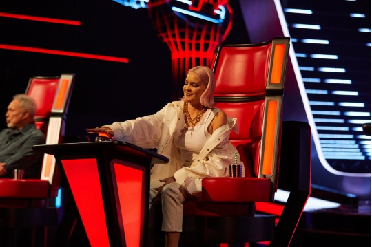 Anne-Marie on The Voice