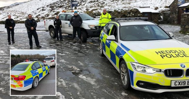 Picture: Media Wales Police slam 'selfish' day-trippers from tier four areas attempting to visit Snowdonia