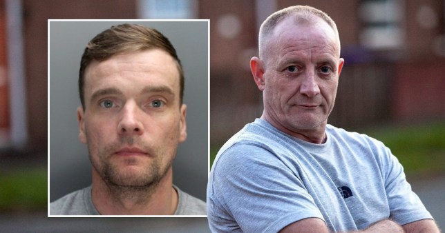 Mark Fellows (left) is serving life for the killing of Salford businessman Paul Massey (r) but has boasted he could kill again, even behind bars (Picture: MEN Media)