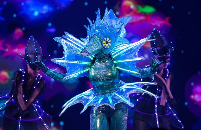Seahorse on The Masked Singer UK