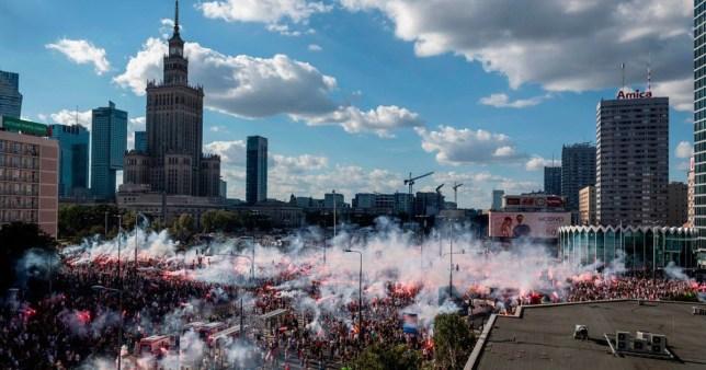 La Pologne marque le 76e anniversaire du soulèvement de Varsovie.
