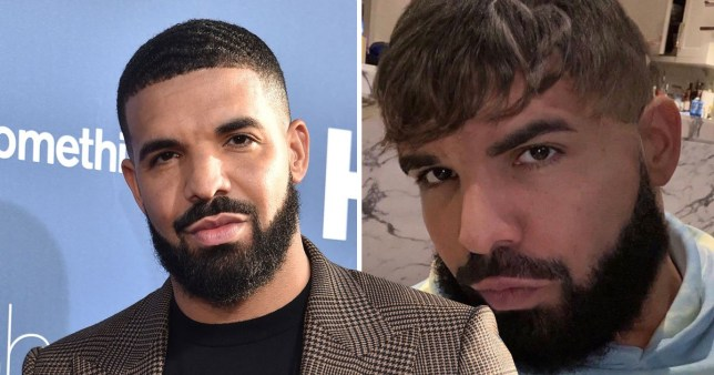 What is going on with Drake's hair?