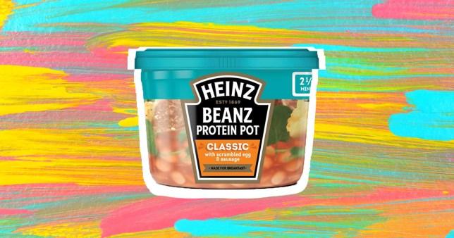 Heinz launches protein pots