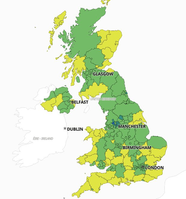2nd Sept Maps show how quickly Covid infection rates are rising in your area Read more: https://metro.co.uk/2021/01/05/maps-show-how-quickly-covid-infection-rates-are-rising-in-your-area-13848276/?ito=cbshare Twitter: https://twitter.com/MetroUK | Facebook: https://www.facebook.com/MetroUK/