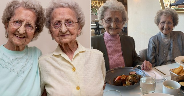 Fears for 96-year-old This Morning twins after both contract Covid despite 'sticking to rules'