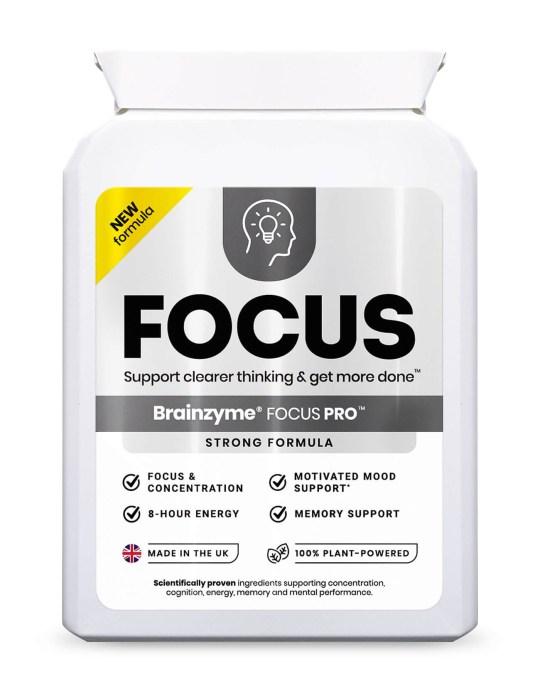 Brainzyme Focus Pro supplements