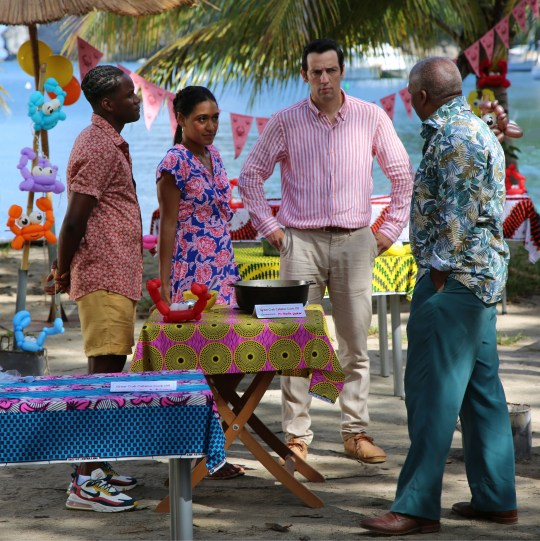 death in paradise cast members