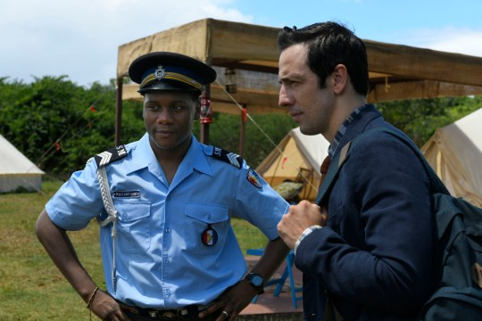Ralf Little in Death in Paradise