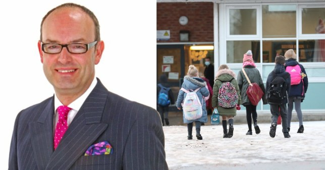 Tory councillor David Burgess-Joyce said teachers who stayed home should be fired