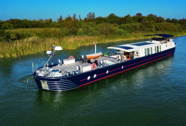 Peter de Savary's houseboat has gone on sale for £2million.