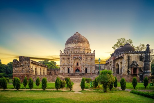 Lodhi Gardens is a city park situated in New Delhi, India. Spread over 90 acres
