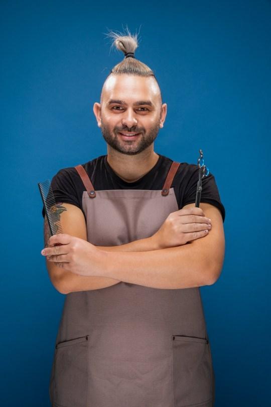 Pooch Perfect UK contestant Vasileios