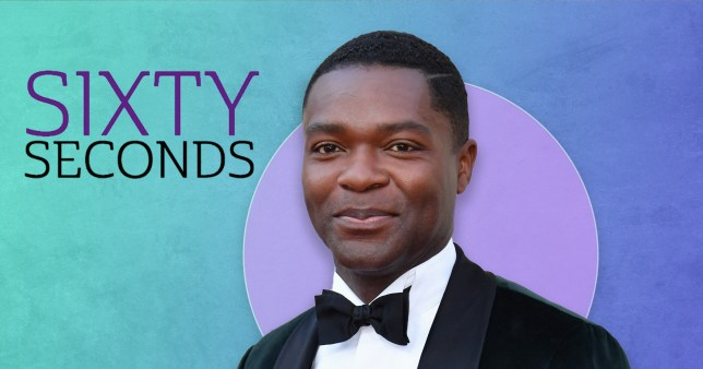 Actor David Oyelowo for Sixty Seconds