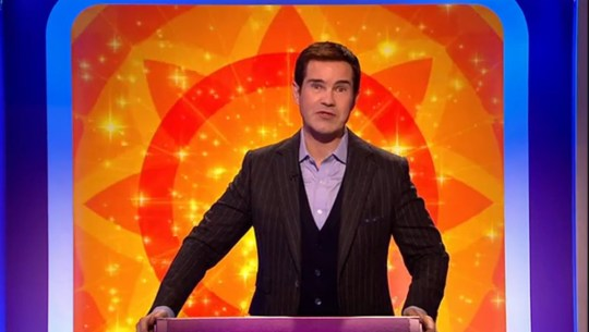 Big Fat Quiz of Everything viewers distracted by Jimmy Carr's hair