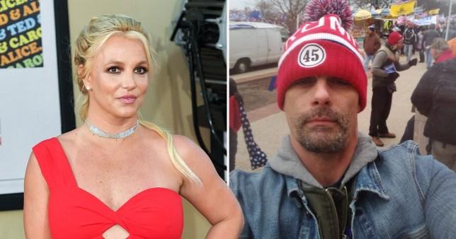 Britney Spears' ex-husband Jason Alexander attended US protests