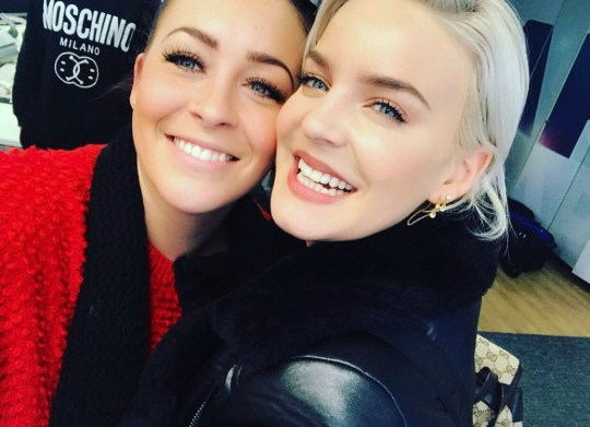 Picture: @Anne-Marie Anne-Marie's sister surprises singer from virtual audience