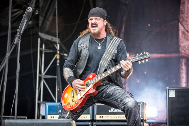 Iced Earth star Jon Schaffer