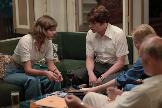 Mathilde Warnier and Billy Howle in The Serpent