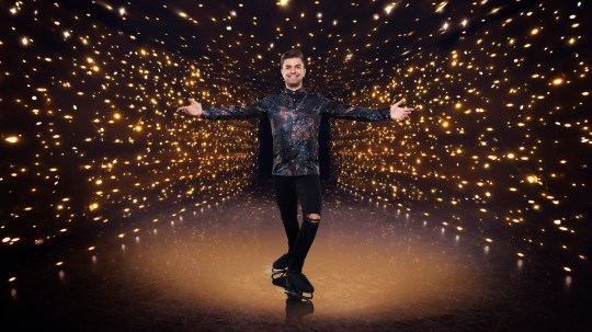 Sonny Jay on Dancing On Ice