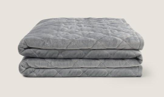 Mela Weighted blanket (?109.99) Melacomfort.com https://melacomfort.com/products/mela-comfort-1